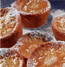 Ананасовые бисквиты