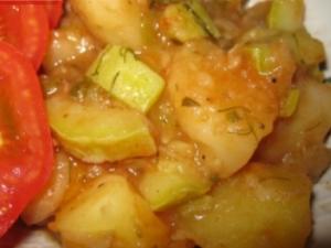 Запеченое овощное рагу