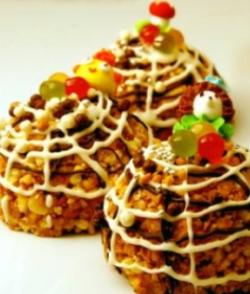 Финиковые пирожные с овсяными хлопьями