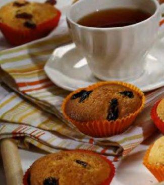 Творожные кексы (лёгкий рецепт)