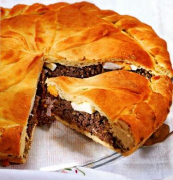 казачий пирог с ливером