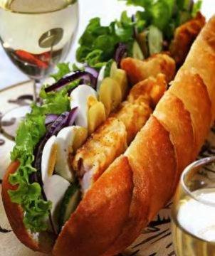 Бутерброд французский
