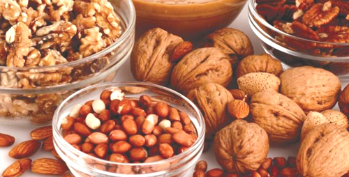 Беременным не стоит кушать орехи