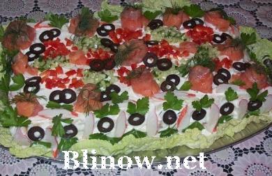 Торт хлебный,закусочный