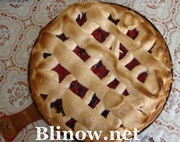 Смородиново-малиновый пирог