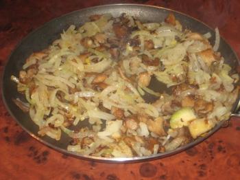 вешенки с картофелем в духовке рецепты