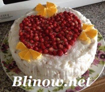 Торт «Кусочки лета»