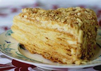 """Рецепт торта """"Пьяный Наполеон"""""""